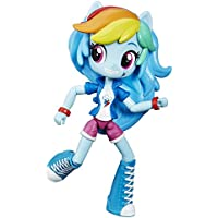 [マイリトルポニー]My Little Pony Equestria Girls My Little Pony Equestria Minis Rainbow Dash Doll B6363AS0 [並行輸入品]