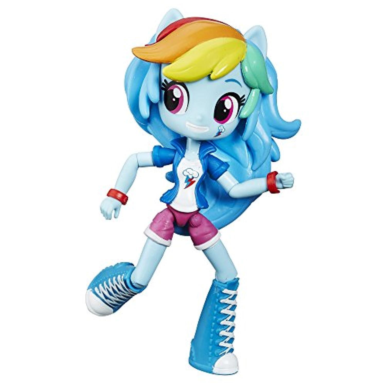 [マイリトルポニー]My Little Pony Equestria Girls My Little Pony Equestria Minis Rainbow Dash Doll B6363AS0 [並行輸入品]