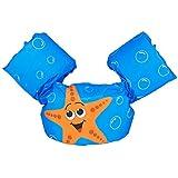 Noloo 子供用浮き輪 ライフジャケット アームリング スイムベスト 水着 軽量便利 可愛い 水泳補助具 水泳安全ジャケット 水遊び スイミング 2~6歳 28KG以下 男女兼用 (A4)