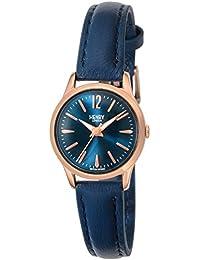 [ヘンリーロンドン]HENRY LONDON 腕時計 EUSTON ネイビー文字盤 HL25S0298 レディース 【正規輸入品】