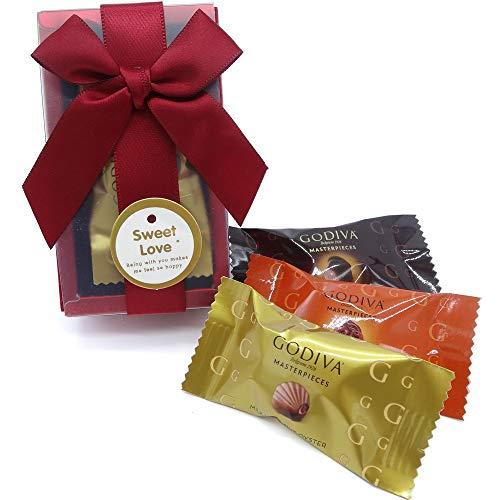 ゴディバ(GODIVA) バレンタインチョコレート バレンタインチョコ かわいい 義理チョコ ミルクチョコレート チョコ 業務用 大量 義理 会社 職場 まとめ買い プレゼント