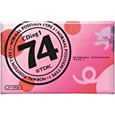 TDK オーディオカセットテープ(ノーマル) CDing1 74分 [CD1-74U]