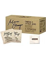 【公式】Mama Omega ママオメガ 葉酸 妊娠中でも飲める サプリ 元気な赤ちゃんとママのためのダブル処方! オメガ3 【ギフトセット 1箱30袋入り】