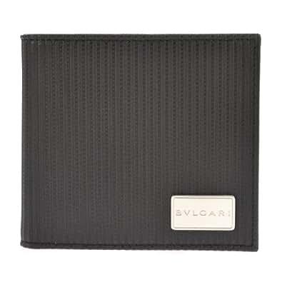 [ブルガリ] BVLGARI 二つ折り財布(小銭入れ付) 【並行輸入品】 25541 BLK (ブラック)