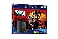 PlayStation 4 Pro レッド・デッド・リデンプション2 パック【Amazon.co.jp限定】アンサー 縦置きスタンド付 & オリジナル...