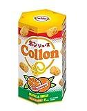 グリコ 【四国地区限定】 ポンジュース コロン(Collon)オレンジ&みかん 1箱 6袋入り