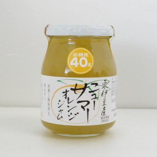 伊豆フェルメンテ 低糖度40度 東伊豆産ニューサマーオレンジジャム300g 1ケース(6個)
