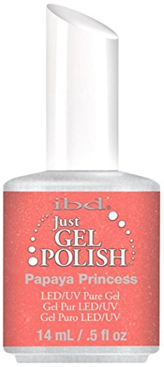 州対抗昼間IBD Just Gel Polish - Papaya Princess - 0.5oz / 14ml