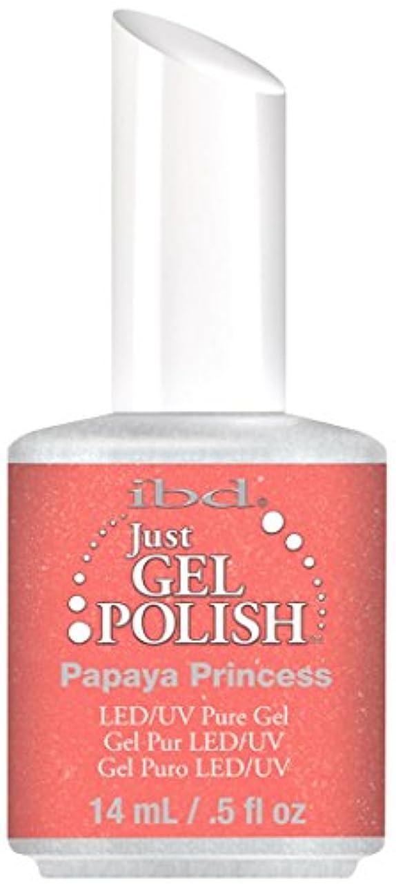 省略カロリー支払いIBD Just Gel Polish - Papaya Princess - 0.5oz / 14ml