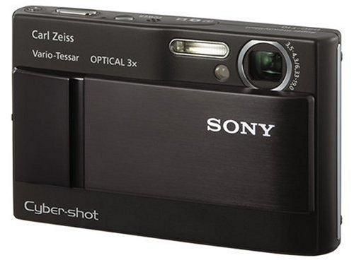ソニー SONY デジタルカメラ サイバーショット DSC-T10 ブラック DSC-T10