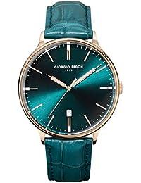 ジョルジオフェドン1919 GIORGIOFEDON1919 ヴィンテージ8 エメラルドグリーン ユニセックス 腕時計 時計