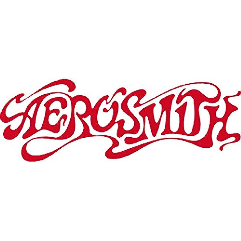 CandD Visionary Aerosmith - 60's Logo Rub-On Sticker Red