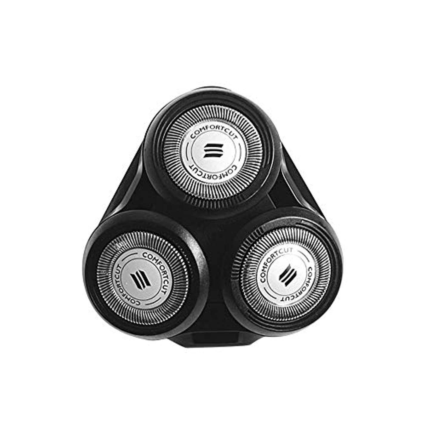 コールファントムアジアシェービングヘッド、電気シェーバー交換ヘッド、フィリップスシェービングヘッド用交換ヘッド、モデルS5000 SH70 SH90 RQ10 RQ11 RQ12と互換性あり