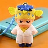 エコピットQP ギョギョ おさかな博士さかなクンキューピー根付ストラップ(白衣の博士)