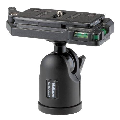 Velbon 自由雲台 QHD-53Q 中型 底面径44mm クイックシュー対応 アルミ製 471826