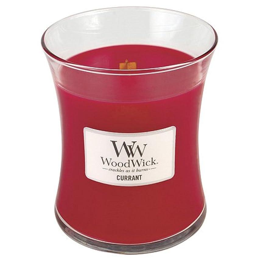 慢胴体優れたWoodwick Candle Currant 10oz レッド 22408