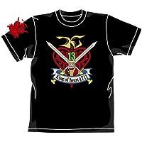 ガンダム キングオブハートTシャツ ブラック サイズ:XL