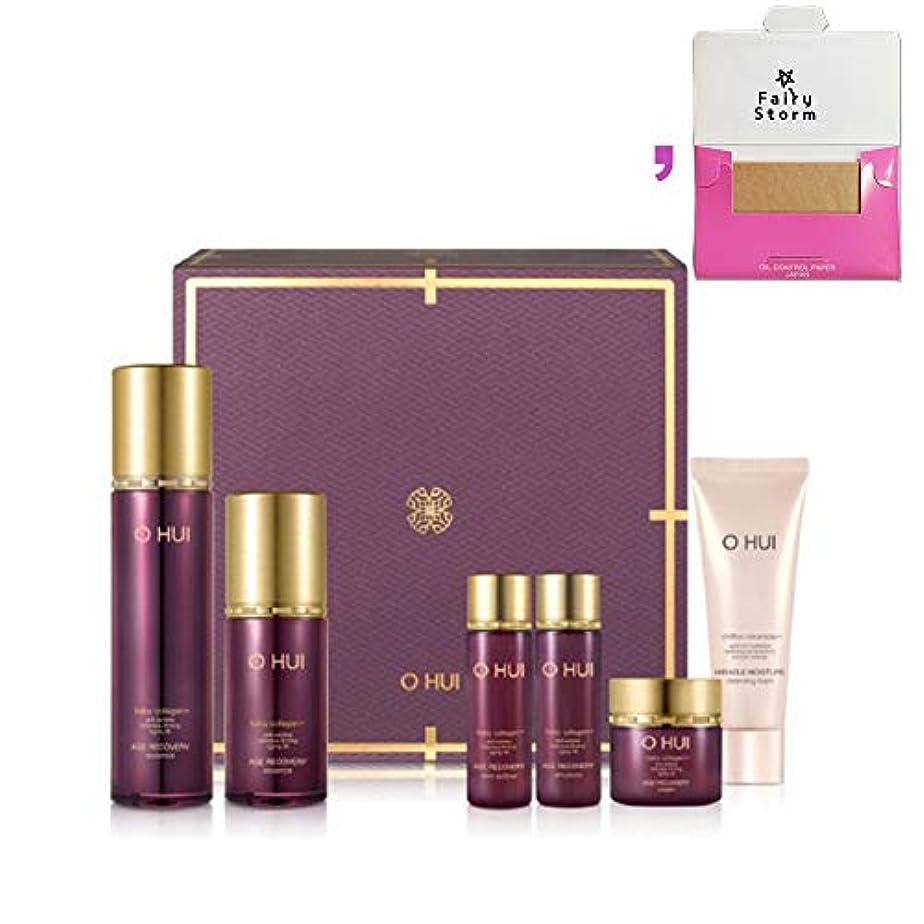 取る持っている錫[オフィ/O HUI]韓国化粧品 LG生活健康/オフィ エイジ リカバリー エッセンス セット/O HUI AGE RECOVERY ESSENCE 2EA Set+ [Sample Gift](海外直送品)