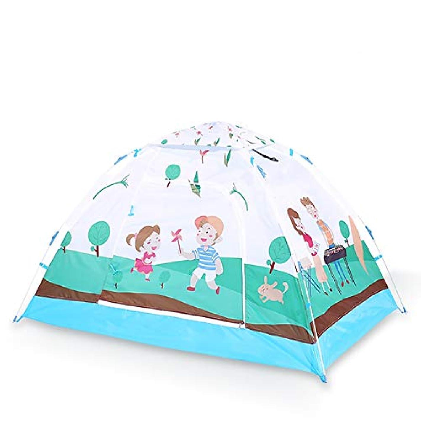 国籍ピッチャー保安子供の遊びのテント自動インスタントポップアップ子供のための防水テントプレイハウスギフト男の子と女の子のための屋内と屋外での使用