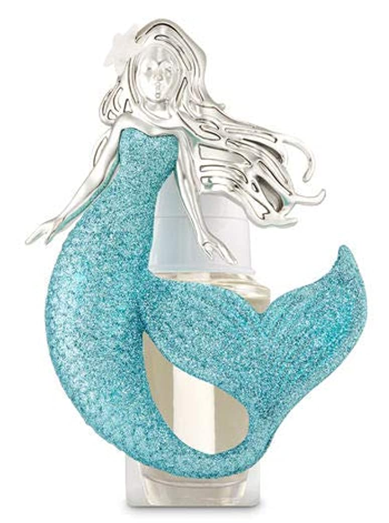 知覚的保持大邸宅【Bath&Body Works/バス&ボディワークス】 ルームフレグランス プラグインスターター (本体のみ) マーメイド ナイトライト Wallflowers Fragrance Plug Mermaid Night...