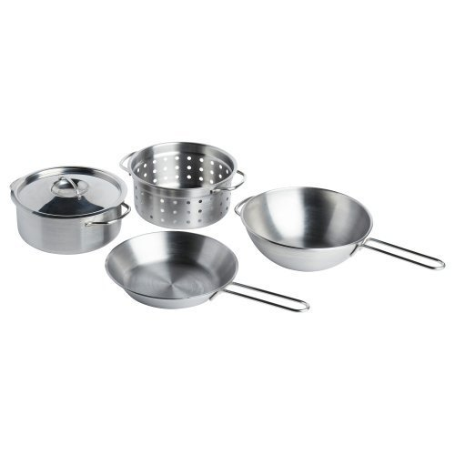 IKEA(イケア) DUKTIG 00167839 調理器具4点セット, ス...