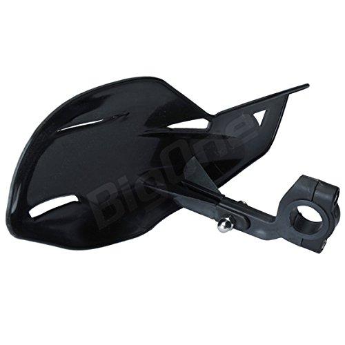 【ハンドガード】ナックルガード ユニコType 黒 トリッカー XT250 DT125R RM-Z250等
