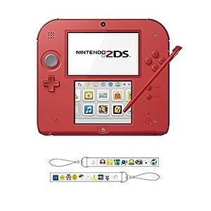 ニンテンドー2DS レッド 【Amazon.co.jp限定】オリジナルストラップ 付