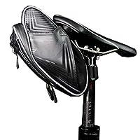 サイクリングサドルバッグ防水、自転車バッグマウンテンテールバッグリアシートバッグケトルバッグ吊りバッグ乗馬バッグ折りたたみ自転車アクセサリー、4色,Gray