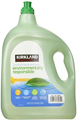KIRKLAND エコフレンドリー 洗剤 食器用洗剤 friendly liquid dish soap
