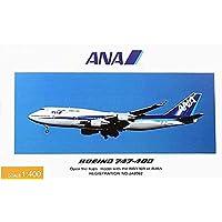 全日空商事 1/400 B747-400 ANA 国際線退役記念 フラップタ 完成品