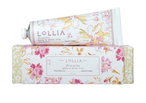 ロリア(LoLLIA) ハンドクリーム Breath 35g (ピオニーとホワイトリリーの甘くさわやかな香り)