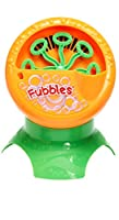 Little Kids Fubbles Bubble Machine Novelty, Orange by Little Kids