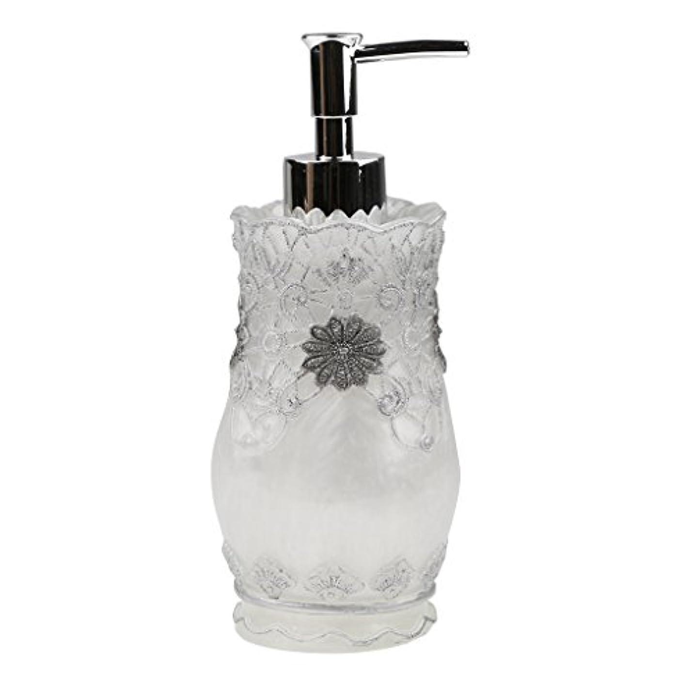 内部市区町村意志に反するHomyl 液体ソープ シャンプー用 空 シャンプー ボトル  詰め替えボトル 美しい エレガント デザイン  全4種類 - #2