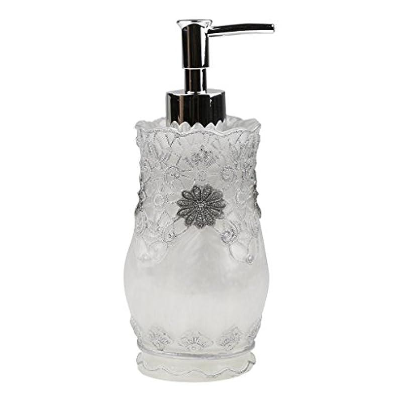 誤解割り当て芝生液体ソープ シャンプー用 空 シャンプー ボトル 詰め替えボトル 美しい エレガント デザイン 全4種類 - #2
