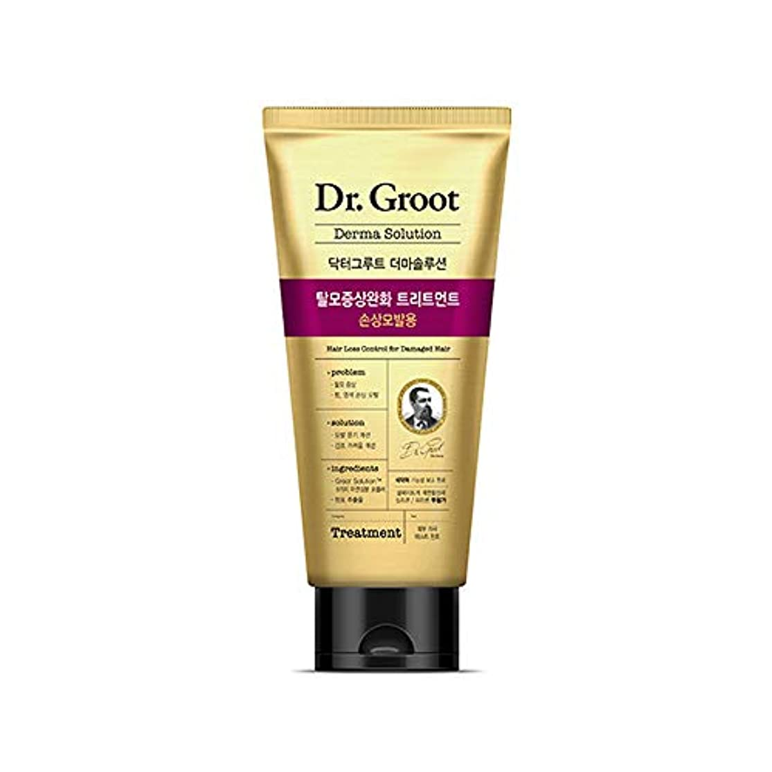 インレイ平和的自殺【Dr.Groot】 ドクターグルート Dr.グルート 脱毛防止トリートメント ダメージヘア用(Anti Hair Loss Treatment -For damaged hair-)