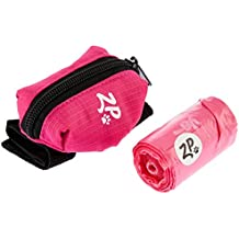 Zippy Paws ZP508 Leash Bag - Pooper Scoopers & Bags, Hibiscus Pink