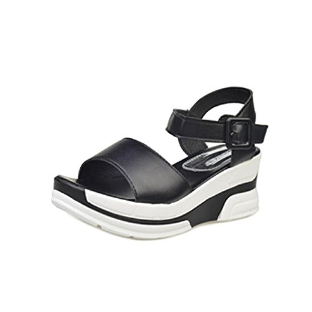 スリチンモイ購入里親[シューズ Foreted] サンダル フラット アンクルストラップ 美脚 フォーマル 厚底 おしゃれ 夏 歩きやすい コンフォート ウェッジソール ぺたんこ靴 可愛い