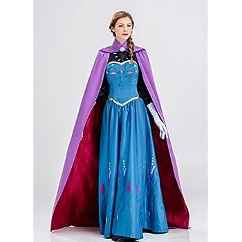 6937afca5af0d MAKE CHEERFUL アナと雪の女王 エルサ ドレス コスプレ 衣装 (M)