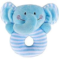 Edtoy Baby Cartoon Animal Plush Hand Rattleおもちゃ 13*8cm Edtoy