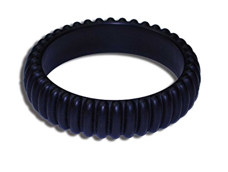 KidKusion Gummi Teething Bracelet Cable, Black by KidKusion