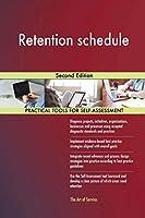 Retention schedule Second Edition