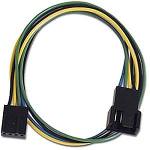 アイネックス ファン用電源延長ケーブル 30cm CA-094