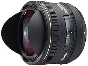 SIGMA 単焦点魚眼レンズ 10mm F2.8 EX DC FISHEYE HSM ニコン用 対角線魚眼 APS-C専用 477554