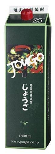 奄美大島酒造 じょうごパック 黒糖焼酎 25度 1.8L