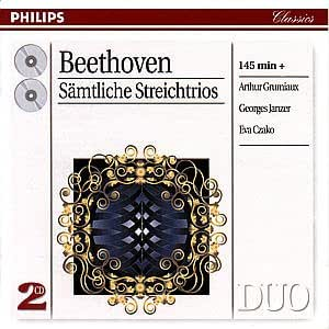 Beethoven;Cpte.String Trio