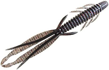 O.S.P(オーエスピー) ルアー DoLive Shrimp 4.8インチ W006 ブラック・ブルーフレーク