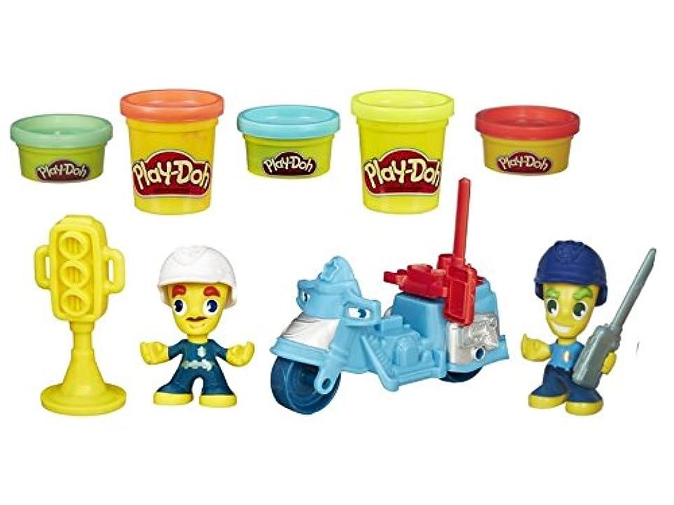 子供のおもちゃ – Play Doh Sets – Policeman and Police Motorcycle