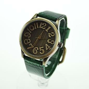 デザイン アンティーク 腕時計 メンズ レディース 男女兼用 6カラー (グリーンcw14)