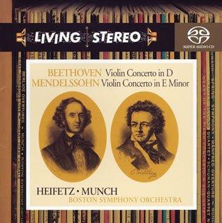 ベートーヴェン&メンデルスゾーン:ヴァイオリン協奏曲の詳細を見る