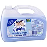 Cuddly Fabric Softener Conditioner Sunshine Fresh 50 Washes Value Pack Made in Australia, 5L